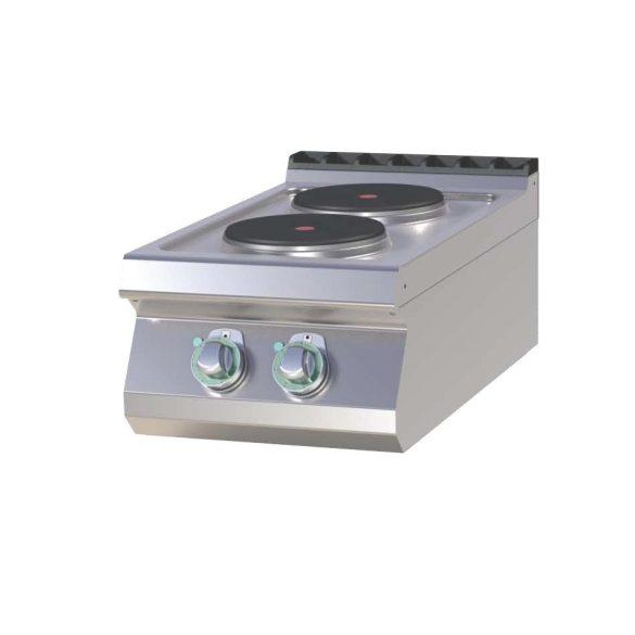RM GASTRO SP 704 E Tűzhely elektromos asztali, két főzőlapos, 400mm