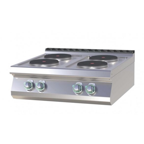 RM GASTRO SP 708 E Tűzhely elektromos asztali, négy főzőlapos, 800mm