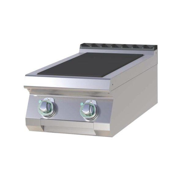 RM GASTRO SPL 704 E Tűzhely elektromos asztali, két négyzet alakú főzőlappal, 400mm