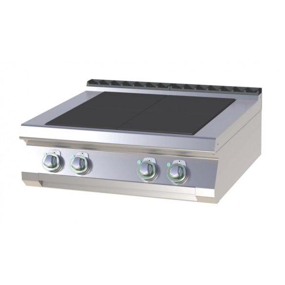 RM GASTRO SPL 708 E Tűzhely elektromos asztali, négy négyzet alakú főzőlappal, 800mm