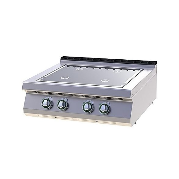 RM GASTRO SPI 708  ES Indukciós tűzhely, asztali, 4x5kW, 800mm