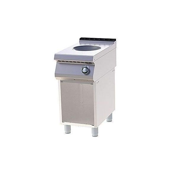 RM GASTRO SPI 740  E WOK Indukciós wok tűzhely nyitott alsó tárolóval, 3,5kW, 400mm