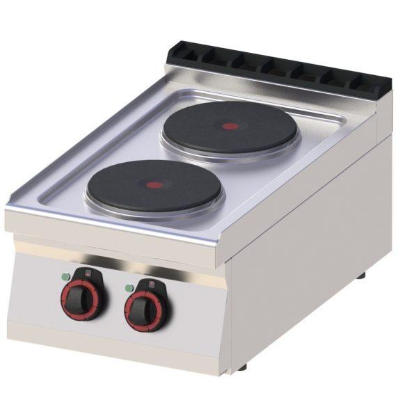 REDFOX SP 70/04 E Tűzhely elektromos asztali, két főzőlapos, 400mm