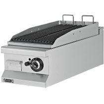 Asztali lávaköves grill, gázüzemű, 400mm – EMPERO EMP.7LG010