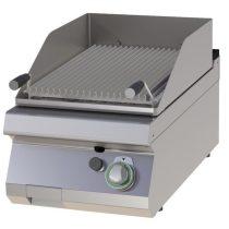 RM GASTRO GL 704 G Gázüzemű asztali lávaköves grill 7,5kW, 400mm