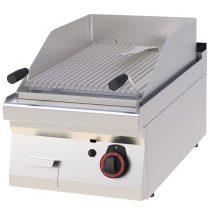 REDFOX GL 70/04 G Gázüzemű lávaköves grill 6,5kW, asztali, 400mm
