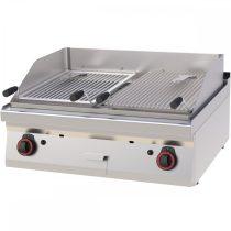 REDFOX GL 70/08 G Gázüzemű lávaköves grill 14kW, asztali, 800mm