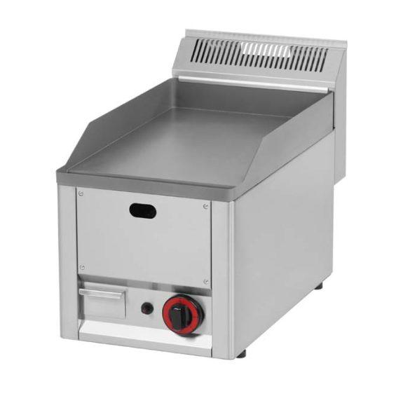 REDFOX FTH 30 GL Szeletsütő lap sima sütőfelülettel, gázüzemű, asztali, 330mm