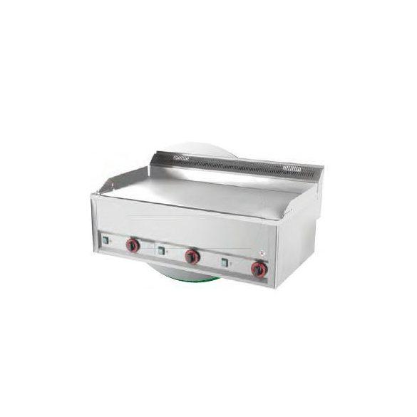 REDFOX FTHC 90 EL Szeletsütő lap nagyméretű sima króm sütőfelülettel, elektromos, asztali, 990mm