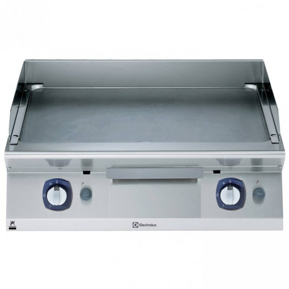 Gázüzemű rostlap asztali, sima lap, 800mm – ELECTROLUXPROFESSIONAL371330