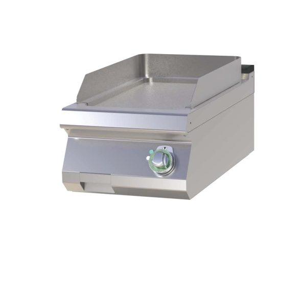 RM GASTRO FTH 704 E Szeletsütő lap sima sütőfelülettel, elektromos asztali, 400mm