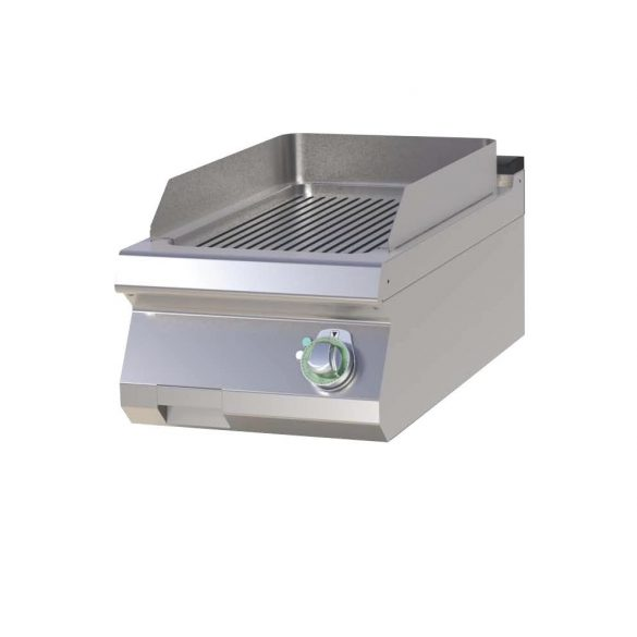 RM GASTRO FTR 704 E Szeletsütő lap bordázott sütőfelülettel, elektromos asztali, 400mm