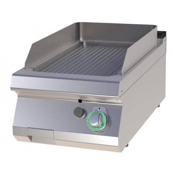RM GASTRO FTR 704 G Szeletsütő lap bordázott sütőfelülettel, gázüzemű asztali, 400 mm