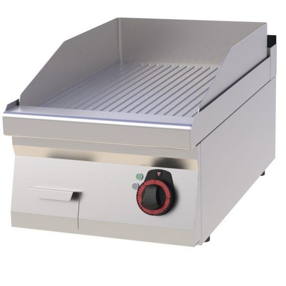 REDFOX FTR 70/04 E Szeletsütő lap bordázott sütőfelülettel, elektromos asztali, 400mm