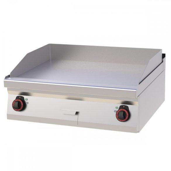 REDFOX FTH 70/08 E Szeletsütő lap sima sütőfelülettel, elektromos asztali, 800mm