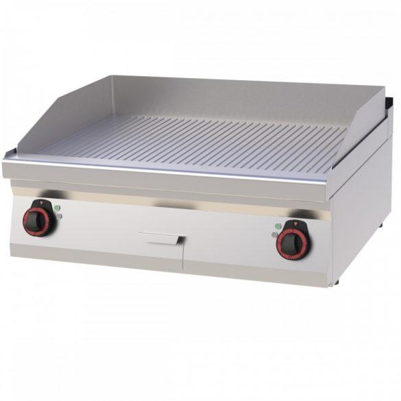 REDFOX FTR 70/08 E Szeletsütő lap bordázott sütőfelülettel, elektromos asztali, 800mm