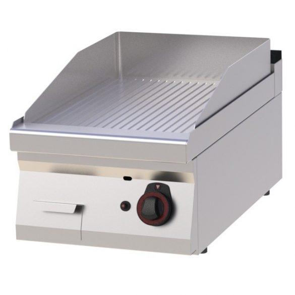 REDFOX FTR 70/04 G Szeletsütő lap bordázott sütőfelülettel, gázüzemű asztali, 400mm