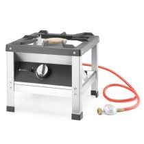 Főzőzsámoly, gázüzemű, 6kW, piezzo gyújtóval – HENDI147801