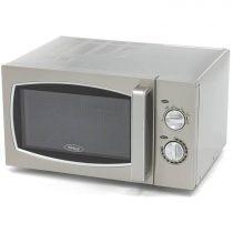 Maxima 09367000 Mikrohullámú sütő, 25 literes, forgótányéros, 900W fűtőteljesítménnyel