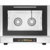 TECNOEKA EKF 464 DUD Légkeveréses sütő, direkt vízbefecskendezés, 4x 600x400mm-es tálcahellyel, programozható