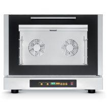 TECNOEKA EKF 464 D Légkeveréses sütő digitális vezérléssel, 4 tálcahellyel (60x40cm), párásító funkcióval