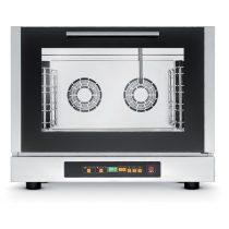 TECNOEKA EKF 411 DUD Kombinált sütő, elektromos, direkt vízbefecskendezés, 4x GN1/1 tálcahellyel, programozható