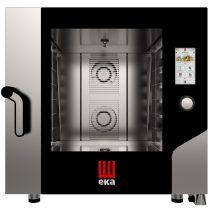 TECNOEKA MKF 664 TS Elektromos légkeveréses sütő 6x 60x40cm tálcahellyel, érintőképernyős