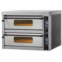 """Pizzakemence 2 sütőtérrel, elektromos 9,6kW """"MD44"""" (8x34cm) – GAM MD44"""
