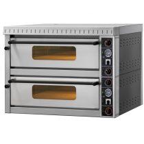 """Pizzakemence 2 sütőtérrel, elektromos 14,4kW """"MD66"""" (12x34cm) – GAM MD66"""