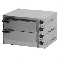 Pizzakemence elektromos, 2 sütőtérrel, 2,7kW – REDFOX FP 66 R