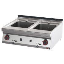 REDFOX VT 70/08 E Elektromos asztali tésztafőző, kétmedencés, 2x16 literes medencével