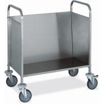 Tányérszállító kocsi, rozsdamentes, 200 db tányérhoz – METALCARRELLI 1270