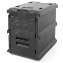 Thermobox ételszállító láda, előltöltős, 2xGN1/1-200 – HENDI 707999