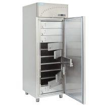 Közösségi hűtőszekrény, rozsdamentes, 10 rekeszes, 650 literes – ALPFRIGO CM 700 KAMP SS