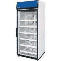 Hűtőszekrény üvegajtóval, felső aggregátoros, statikus hűtéssel, 480L – COLD SW-500DP A/G