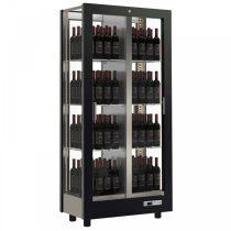 Borhűtő fal panoráma üveg burkolattal, 128 álló palackhoz – EXPO TV-C13