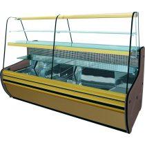 """Süteményhűtő statikus hűtéssel, hajlított üveges, 1430x930mm """"COSI"""" – COLD C-14 G"""