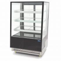 Maxima 09400842 Süteményes hűtőpult ventilációs hűtéssel, 400 literes, 900x805x1445mm