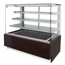 """Süteményhűtő vitrin sík üvegezéssel, ventillációs hűtéssel, 1340x780mm """"MALAGA"""" – COLD C-13 PNw MALAGA"""
