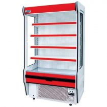 "Tejhűtő faliregál beépített aggregátorral, 1235x655x2020mm ""REMO"" – COLD R-10*655"
