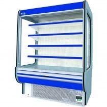 "Tejhűtő faliregál beépített aggregátorral, 1625x900x2020mm ""REMO"" – COLD R-16*900"