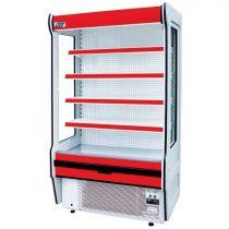 "Tejhűtő faliregál beépített aggregátorral, 1425x655x2020mm ""REMO"" – COLD R-14*655"