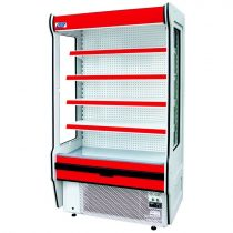 "Tejhűtő faliregál beépített aggregátorral, 2025x655x2020mm ""REMO"" – COLD R-20*655"
