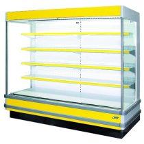"Tejhűtő faliregál aggregátor nélkül, 2650x1160x2200mm ""SAPORO"" – COLD R-25 S/o"