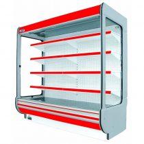 """Tejhűtő faliregál aggregátor nélkül, 2600x655x2020mm """"REMO"""" – COLD R-25/o *655"""