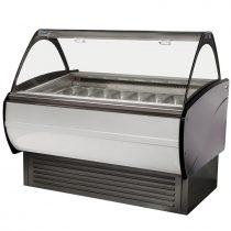 """Fagylaltpult 16/10 tégelyes, ventillációs hűtéssel """"MALIBU"""" – COLD W-16 DL"""
