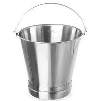 HENDI 516720 Vödör, rozsdamentes acél, 15 literes
