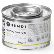 HENDI 194300 Égőpaszta, 200 grammos, ethanol származék