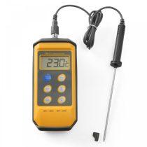 HENDI 271407 Maghőmérő eltávolítható kábeles 213mm-es szondával, csepp és ütésálló (-50/+300°C)