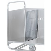 Elválasztórács, 1db, tányérszállító kocsihoz. – METALCARRELLI A0056